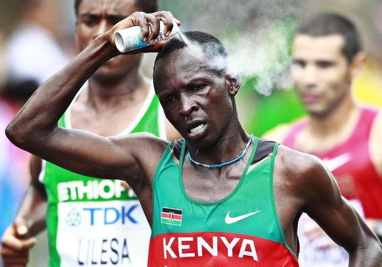 El atleta keniata Eliud Kiptanui. EFE/Archivo