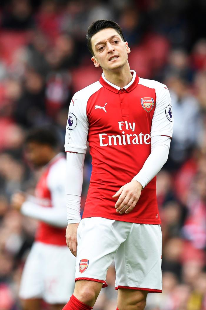 Özil is being linked with a move to the MLS. EFE