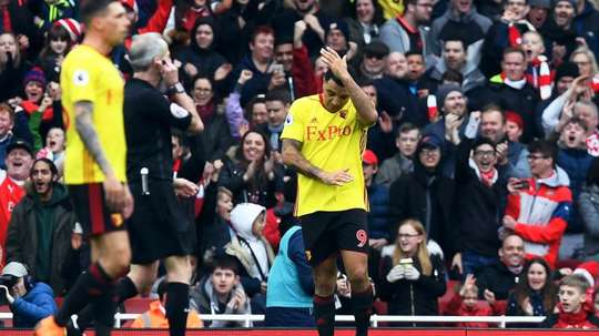 Deeney is unlikely to be fit for the game. EFE