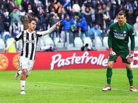 Juventus - Udinese: onzes iniciais confirmados. EFE