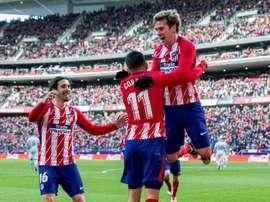 L'Atlético se déplacera en Russie. EFE