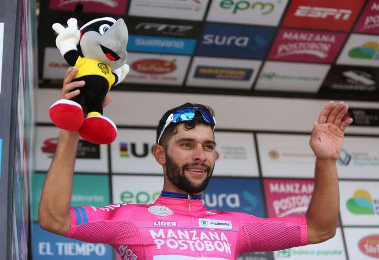 El ciclista colombiano Fernando Gaviria. EFE/Archivo