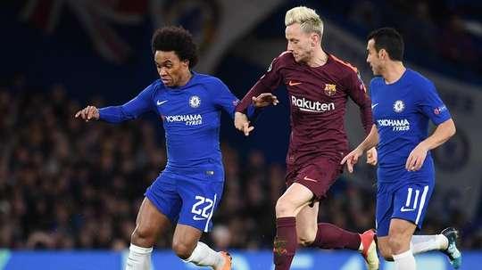 El zasca del Barça al Chelsea acabó en troleo máximo de los 'blues'. EFE