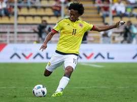 Cuadrado dévoile les ambitions de la Colombie. EFE