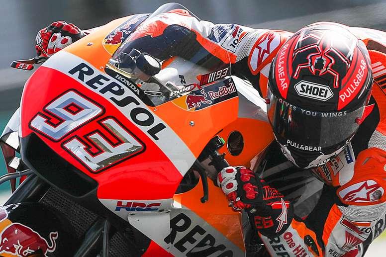 El piloto español de MotoGP Marc Márquez. EFE/Archivo