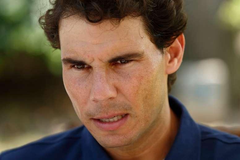El tenista español Rafael Nadal. EFE/Archivo