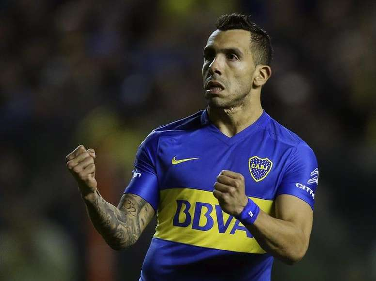 Tevez is backing Argentina to go all the way. EFE/Archive