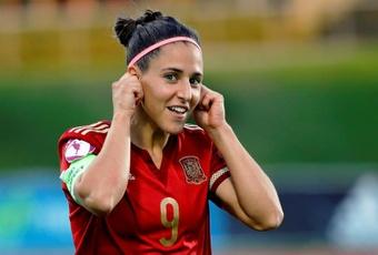 Vero Boquete analizó el fútbol femenino español. EFE