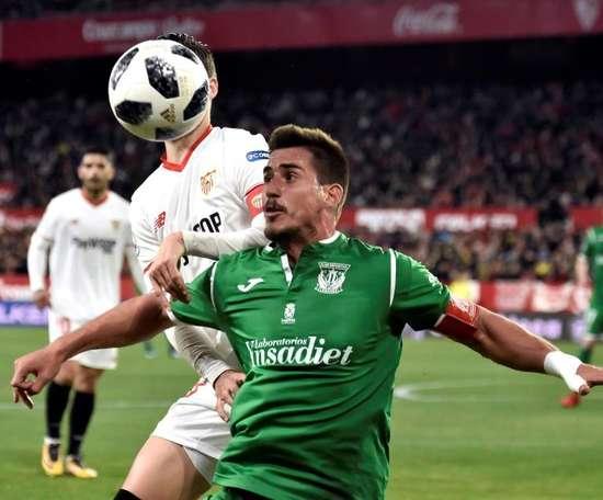 Gabriel Pires set to leave Leganés. EFE