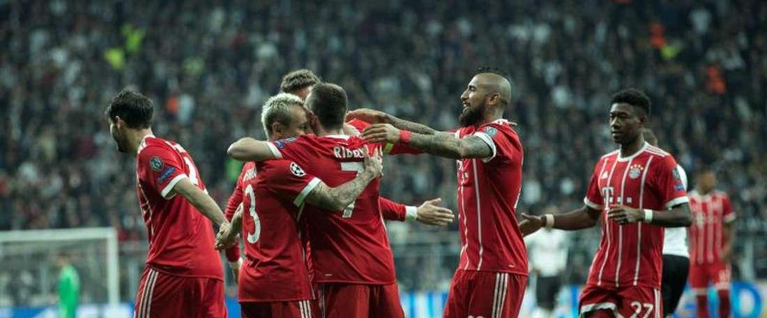 Bayern está nas quartas. EFE