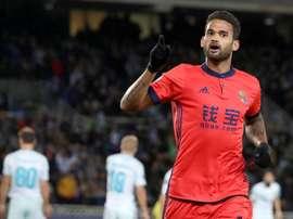 Willian José a été convoqué par Tite pour jouer avec le Brésil. EFE