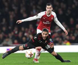 Emery is considering a big for AC Milan's Rodriguez. EFE