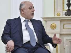 Haidar al Abadi, contento con la decisión de la FIFA. EFE