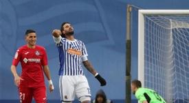 Willian José n'ira pas au Barça. EFE