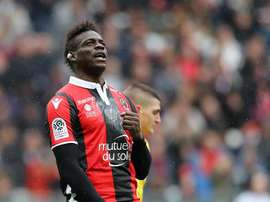 Balotelli agradeceu ao Nice. EFE/EPA