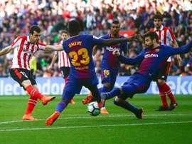 Real Sociedad B y Marbella son equipos tan sólidos como el Barça. EFE