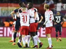 El RB Leipzig remontó al Bayern. EFE