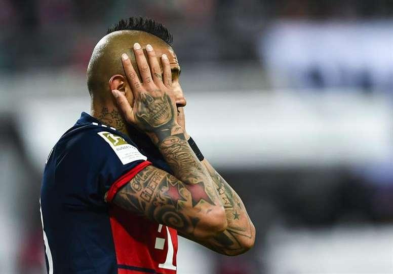 Vidal veut rejoindre Barcelone. EFE