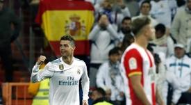 Cristiano Ronaldo avait marqué quatre buts. EFE