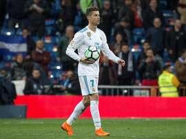Cristiano Ronaldo é uma máquina goleadora. EFE