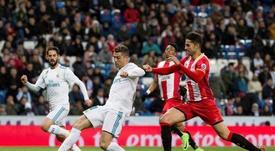 Cristiano marcó cuatro goles ante el Girona. EFE