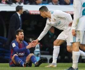 Cristiano y Messi pudieron pasar por Bastia y Cádiz. EFE/Archivo