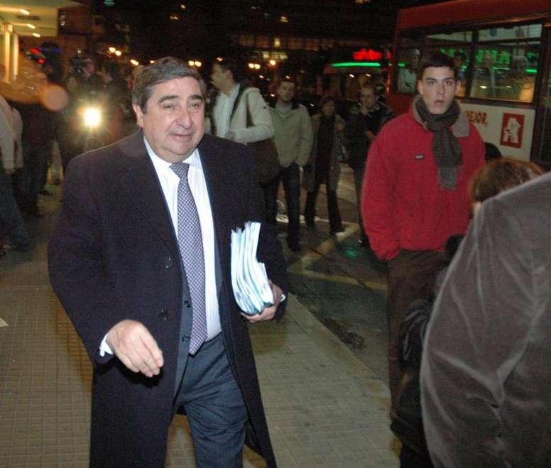 El ex presidente repasó la situación del club. EFE