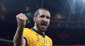 Chiellini is set to win his 100th cap for Italy. EFE