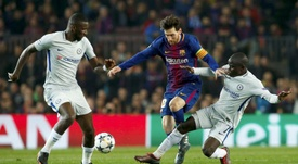 Rudiger revealed a curious incident with Messi. EFE