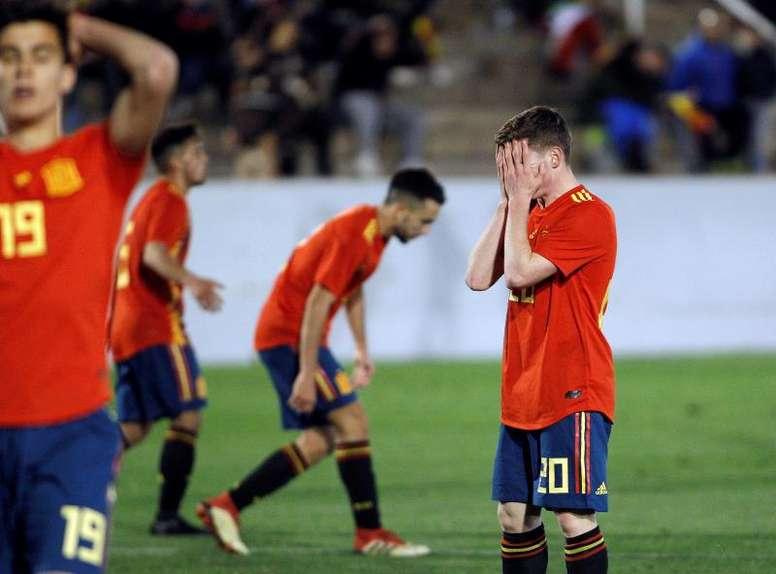 España, fuera de Europeo y Mundial Sub 20. EFE