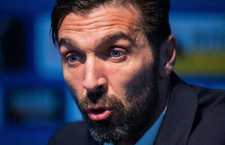 Buffon, un grande de Italia. EFE
