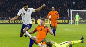 de Ligt will be watched by Barcelona in the game aginst Germany. EFE