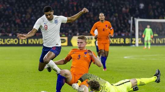 De Ligt addressed his future. EFE