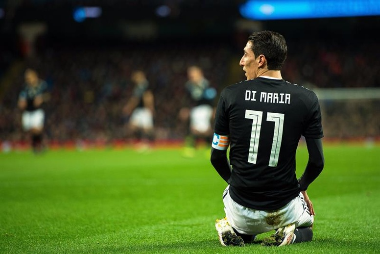 Image result for angel di maria 2018