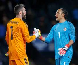 Allan McGregor has tipped manager Gerrard for future greatness in the Premier League. EFE