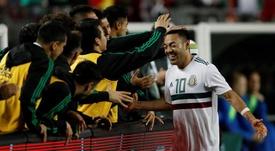 Marco Fabián estaría encantado de regresar a su México natal. EFE