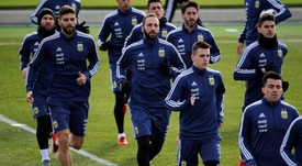 Preparativos para el Mundial. EFE