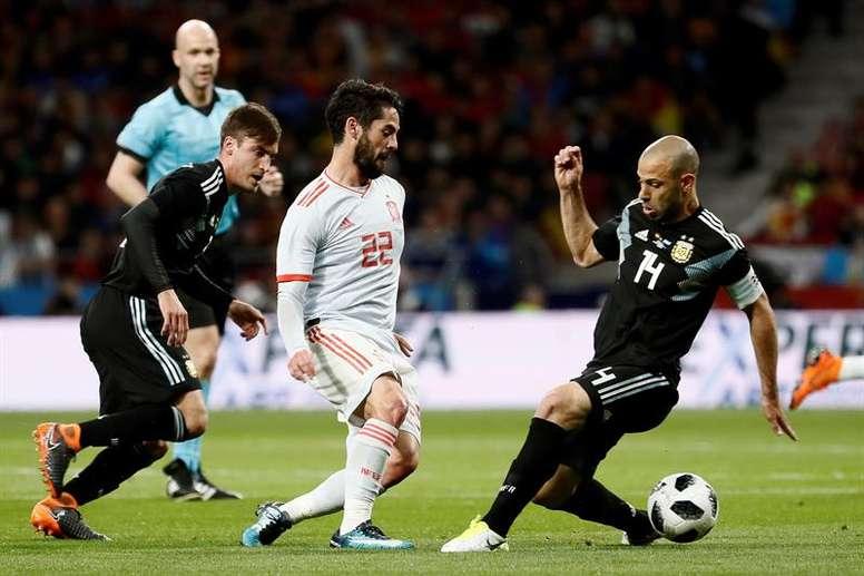 Isco espera demostrar su mejor versión en el Madrid para estar en la Eurocopa 2020. EFE