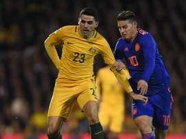 Tom Rogic could be key for Australia against Denmark. EFE