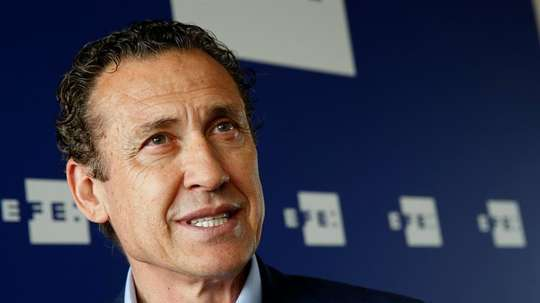 Valdano analysed Madrid's win. EFE/Archivo