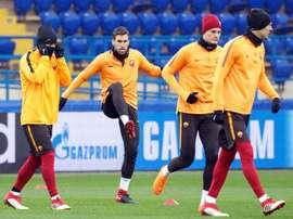 Strootman admite que no querían cruzarse con el Barça. EFE
