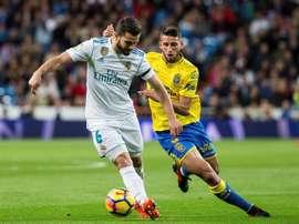 Las Palmas e Real Madrid defrontam-se neste sábado. EFE