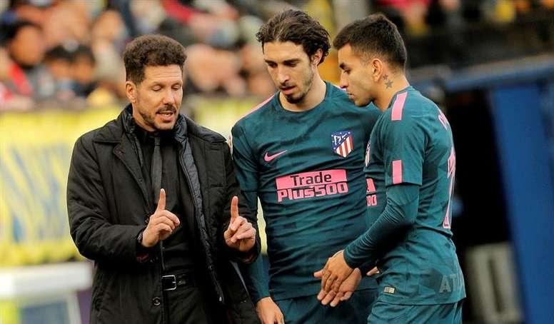 Correa and Vrsaljko are the Atletico Madrid players to have coronavirus. EFE
