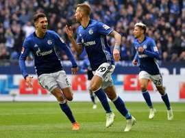 O Schalke 04 visita o Colónia. EFE/EPA