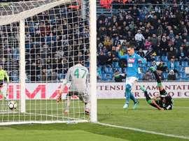 El Nápoles tropezó y la Serie A se escapa. EFE