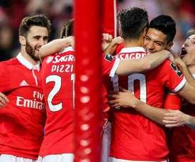 El Benfica sumó tres puntos 'in extremis' en casa del Estoril. EFE/EPA/Archivo