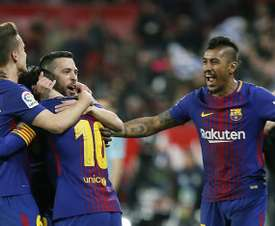 Barcelona have one hand on the league crown. EFE