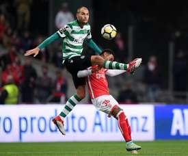 Viana, choisi par la Lazio. EFE