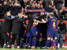 El Barça es el rey del continente. EFE