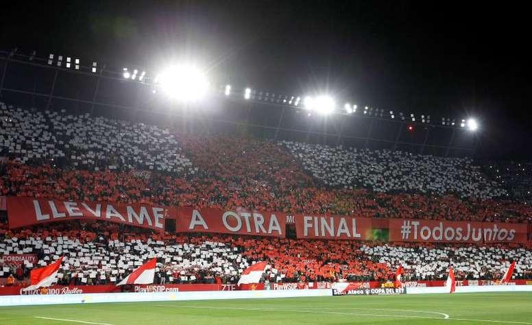 El Sevilla, ilusionado con la final de Copa del Rey. EFE/Archivo